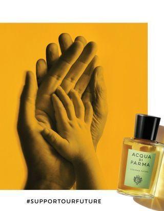 #SupportOurFuture : Acqua di Parma dévoile une campagne caritative pour les enfants hospitalisés