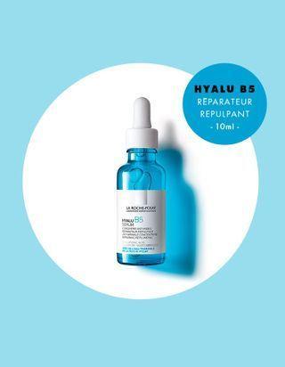 En cadeau cette semaine avec votre ELLE : Le sérum Hyalu B5 LA ROCHE-POSAY !