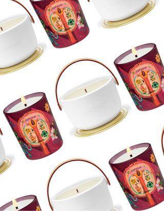 16 bougies parfumées pour les fêtes de fin d'année