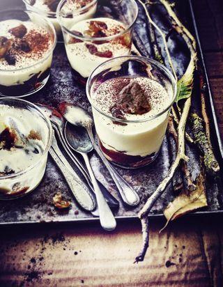 Recettes à la crème de marrons