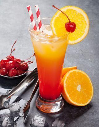 Recettes de cocktails à la grenadine