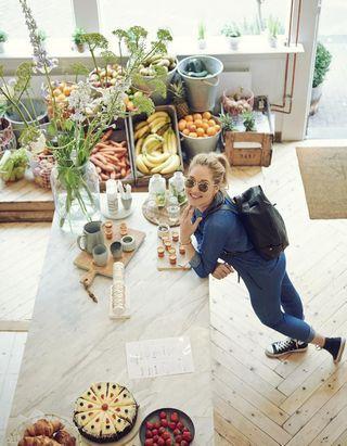 Le menu de Rens Kroes, la healthy girl d'Amsterdam