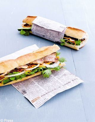 [VIDEO] Le banh mi, le « eat » sandwich healthy