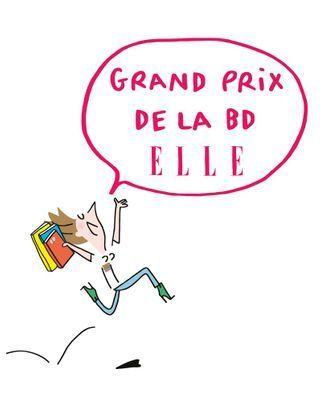 Devenez jurée du Grand Prix de la BD ELLE !