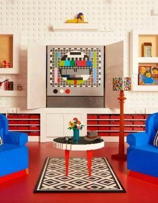 Cette maison en Lego bluffera tous ceux qui ont une âme d'enfant