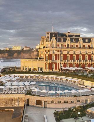 L'Hôtel du Palais à Biarritz, la renaissance d'une résidence impériale