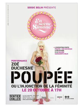 """La féminité abusive selon Zoé Duchesne dans sa performance """"Poupée"""""""