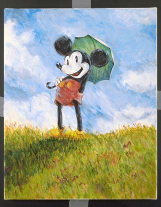 «Mickey is art» : la plus célèbre des souris s'expose à Paris