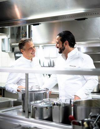 Que vous cuisine Mohamed Cheikh, lauréat de Top Chef, en résidence à La Pagode de Cos ?