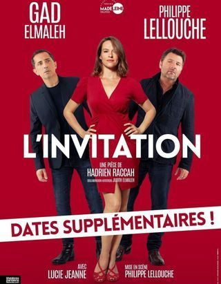 « L'Invitation » : Gad is back