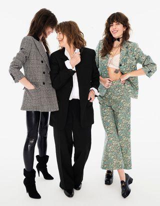 ELLE a 75 ans : Jane Birkin, Charlotte Gainsbourg et Lou Doillon, les spirituelles