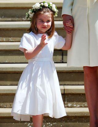 Quelle est la passion de la princesse Charlotte qui rend fière la reine ?