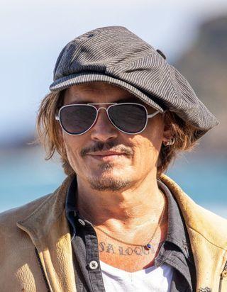 Johnny Depp, star du Festival de Saint-Sébastien