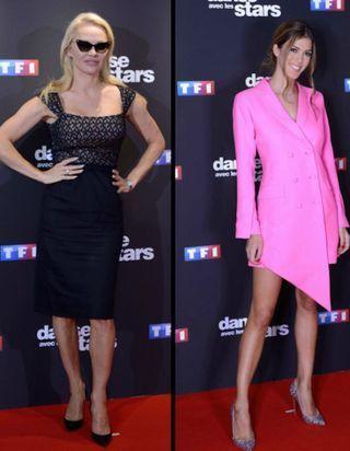 Pamela Anderson, Iris Mittenaere et Shy'm sexy pour la présentation de la nouvelle saison de « Danse avec les stars »