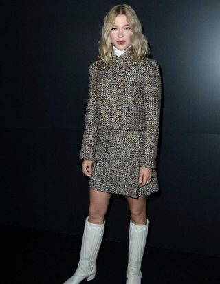 Fashion Week de Paris : Léa Seydoux chez Louis Vuitton, Lucy Hale chez Miu Miu