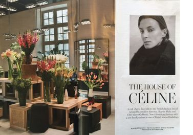 L'instant Mode : Le Showroom Céline À Paris