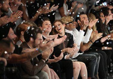 Les Stars Applaudissent Le Défilé Alexander Wang Po...