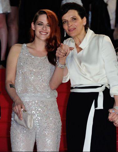 Kristen Stewart Et Juliette Binoche, Complices Pour...