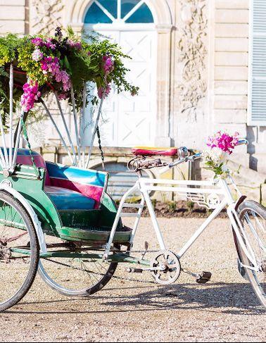 French Antique Wedding, La Déco De Mariage Vintage...
