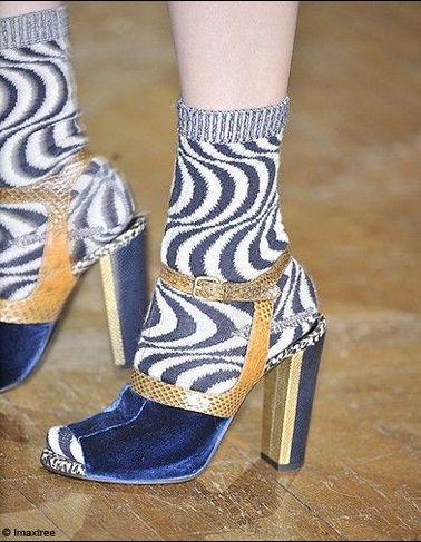 Tendance : les chaussures en velours