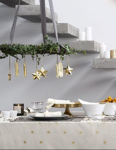 D co no l 2015 les id es de d corations tendances pour for Decorer sa table de noel