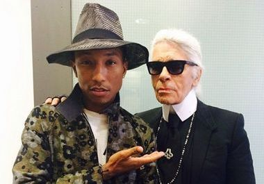 Pharrell Williams dans le prochain film de Chanel?