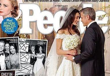 Découvrez les photos exclusives du mariage de George Clooney et Amal Alamuddin