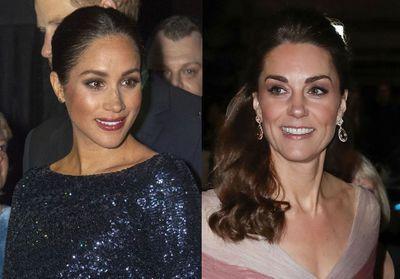 Pourquoi Meghan Markle met-elle du rouge à lèvres foncé mais pas Kate Middleton ?