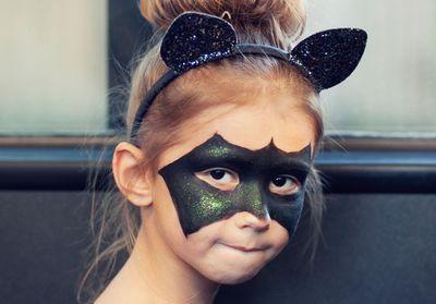 10 maquillages d'Halloween pour enfants, adorables ou terrifiants
