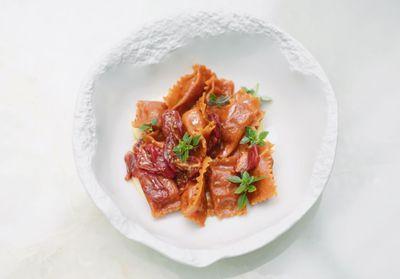 Al dente et succulents les dumplings tomate et parmesan de Simone Zanoni