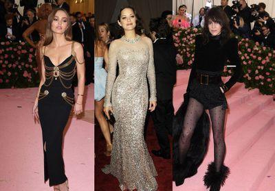 Marion Cotillard, Charlotte Gainsbourg... Ces stars françaises qui ont foulé le tapis rouge du MET Ball