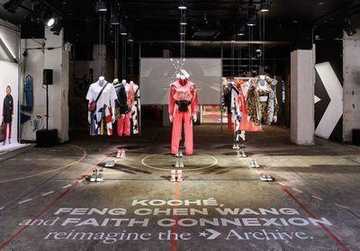 #ElleYÉtait : le lancement de la collab' Converse x Koché x Feng Chen Wang x Faith Connexion à Londres