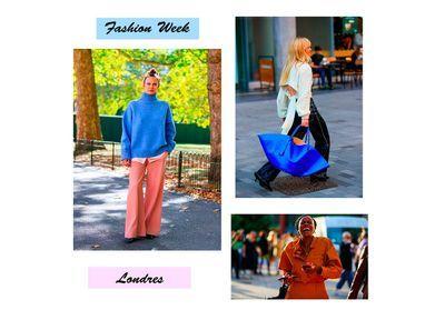 Fashion Week de Londres : les plus beaux looks à piquer aux filles stylées
