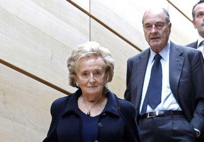 Bernadette Chirac présente aux Invalides pour rendre hommage à son époux