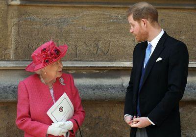 Le prince Harry « remis fermement à sa place » par Elizabeth II