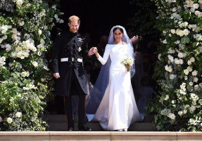 Meghan Markle et le prince Harry fêtent leurs deux ans de mariage, redécouvrez les photos de cette journée