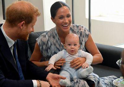 Meghan Markle et le prince Harry : le surnom à croquer du petit Archie pour Halloween !