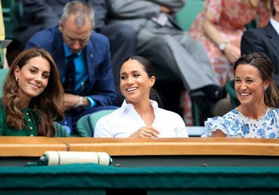 Meghan Markle, Kate Middleton et Pippa Middleton : complices pour applaudir Serena Williams à Wimbledon