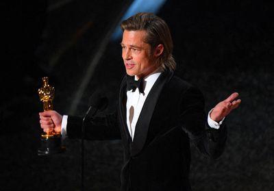 Oscars 2020 : Brad Pitt, ému aux larmes, remercie ses enfants