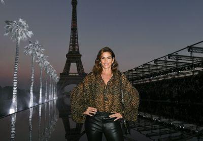 Cindy Crawford, Kate Moss et Carla Bruni stars du défilé Saint Laurent