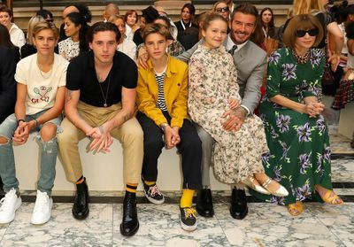 Les enfants Beckham font le buzz à la Fashion Week de Londres