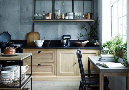 Modele cuisine petite surface finest modele cuisine - Modele cuisine campagne ...