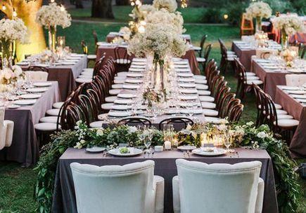 Plan de table comment organiser son plan de table elle - Disposition table mariage ...