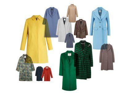 ec9556e5f19e Soldes manteau   30 manteaux soldés à shopper sans tarder - Elle