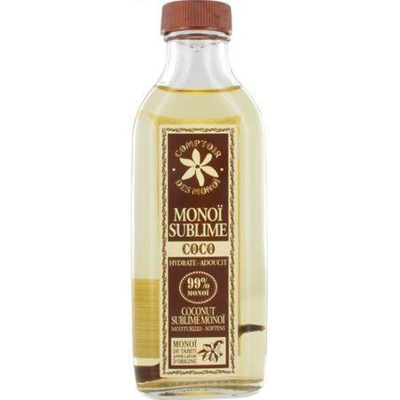 huile de mono comptoir des mono 10 huiles de mono pour sublimer vos cheveux elle. Black Bedroom Furniture Sets. Home Design Ideas