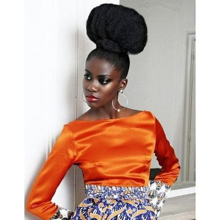 coiffure cheveux afro tendance printemps t 2015 coiffures afro les filles styl es donnent. Black Bedroom Furniture Sets. Home Design Ideas