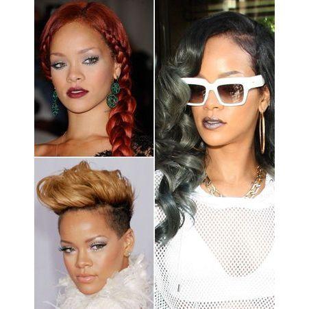 Rihanna toutes ses coupes en images