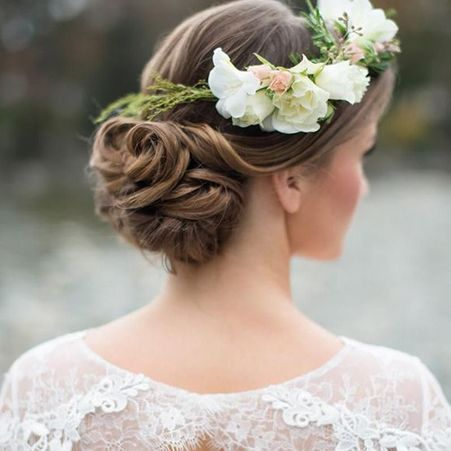 Les plus jolies coiffures de mariees pour s inspirer
