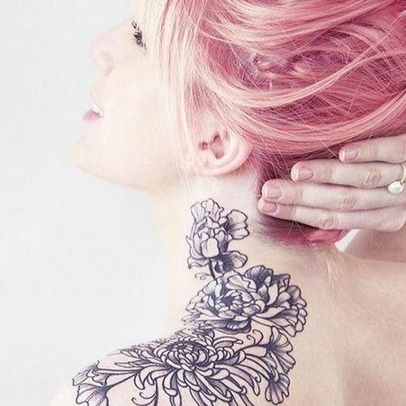 les 40 plus beaux tatouages de pinterest elle. Black Bedroom Furniture Sets. Home Design Ideas