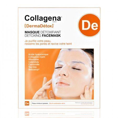 masque hydrogel d toxifiant collagena 10 masques imbib s pour une mise en beaut rapide elle. Black Bedroom Furniture Sets. Home Design Ideas